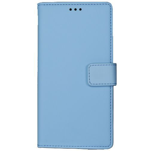 Productafbeelding van de Mobiparts Premium Wallet Case Light Blue Huawei P8 Lite