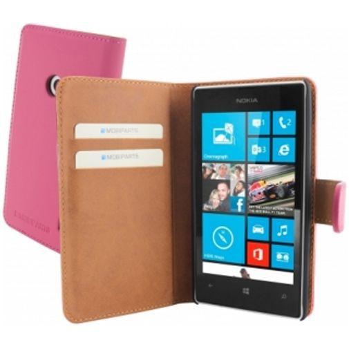 Productafbeelding van de Mobiparts Premium Wallet Case Nokia Lumia 520 / 525 Pink