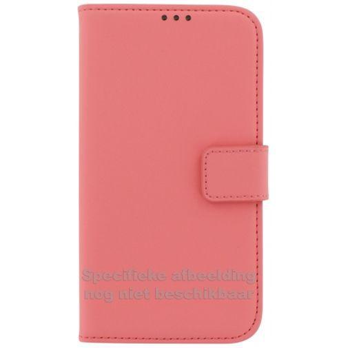 Productafbeelding van de Mobiparts Premium Wallet Case Peach Pink Huawei P8 Lite