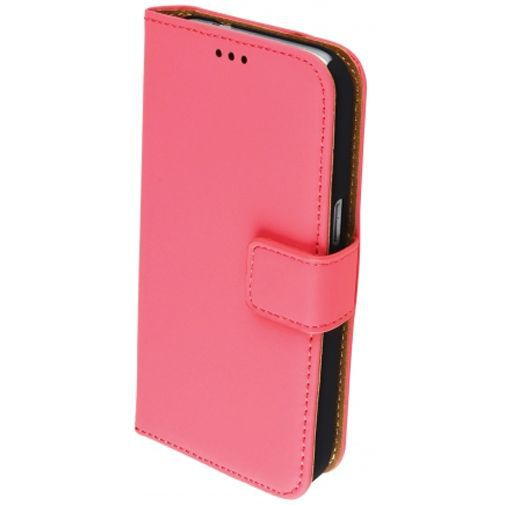 Mobiparts Premium Wallet Case Peach Pink Samsung Galaxy Core Prime (VE)
