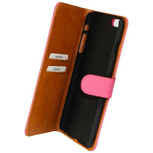 Productafbeelding van de Mobiparts Premium Wallet Case Pink Apple iPhone 6 Plus/6S Plus