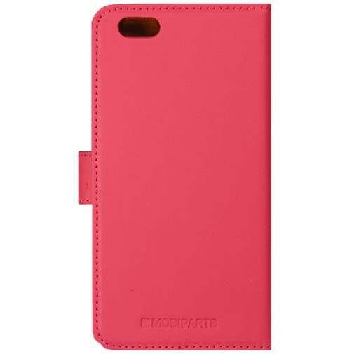Produktimage des Mobiparts Premium Wallet Case Pink Apple iPhone 6/6S