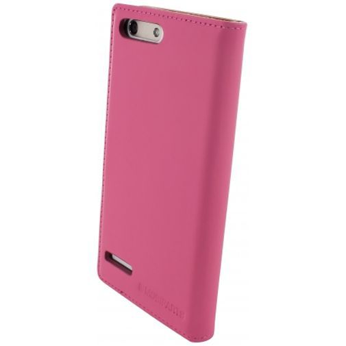 Productafbeelding van de Mobiparts Premium Wallet Case Pink Huawei Ascend G6 4G