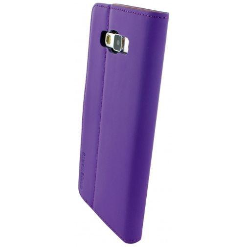 Productafbeelding van de Mobiparts Premium Wallet Case Purple Samsung Galaxy A7