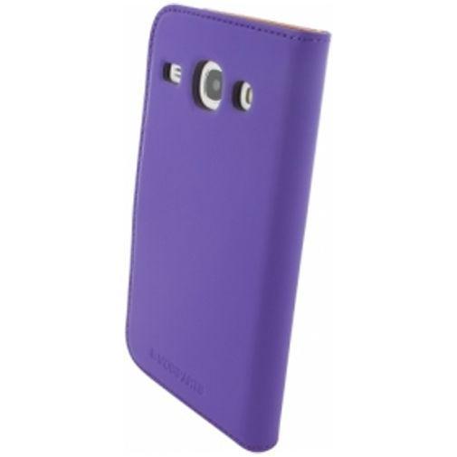 Productafbeelding van de Mobiparts Premium Wallet Case Samsung Galaxy Core Purple