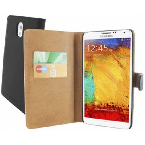 Productafbeelding van de Mobiparts Premium Wallet Case Samsung Galaxy Note 3 Black