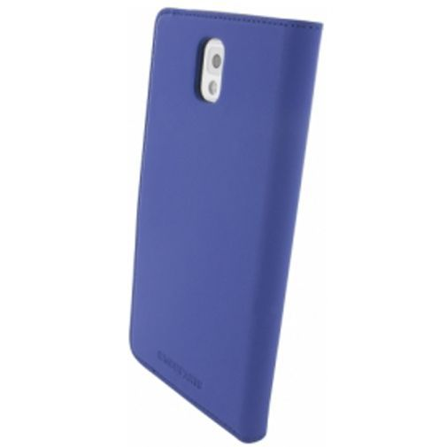 Productafbeelding van de Mobiparts Premium Wallet Case Samsung Galaxy Note 3 Blue