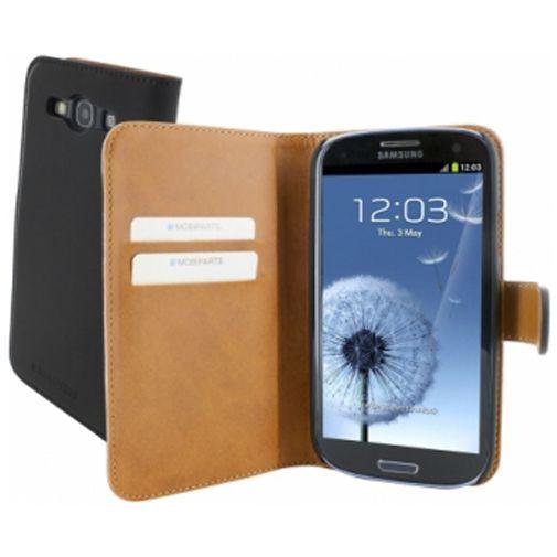 Productafbeelding van de Mobiparts Premium Wallet Case Samsung Galaxy S3 (Neo) Black