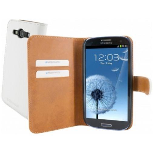 Productafbeelding van de Mobiparts Premium Wallet Case Samsung Galaxy S3 (Neo) White