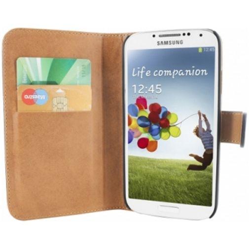 Productafbeelding van de Mobiparts Premium Wallet Case Samsung Galaxy S4 Black
