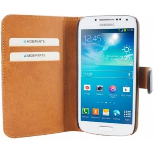 Productafbeelding van de Mobiparts Premium Wallet Case Samsung Galaxy S4 Mini (VE) Black