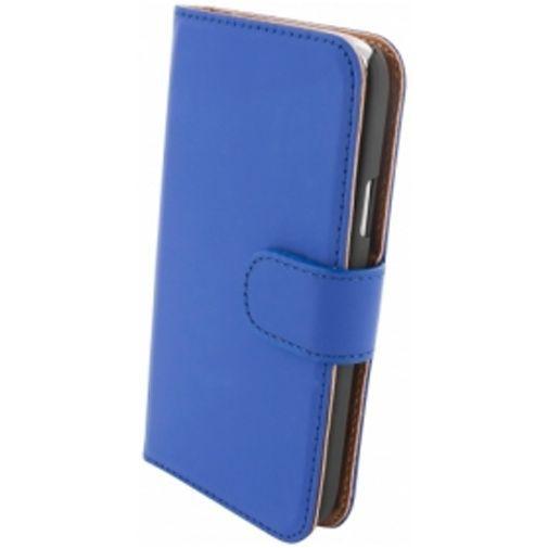 Productafbeelding van de Mobiparts Premium Wallet Case Samsung Galaxy S4 Mini Blue