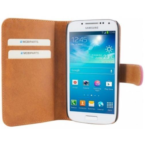 Productafbeelding van de Mobiparts Premium Wallet Case Samsung Galaxy S4 Mini (VE) Pink