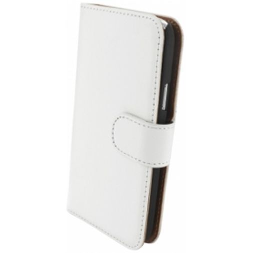 Productafbeelding van de Mobiparts Premium Wallet Case Samsung Galaxy S4 Mini White