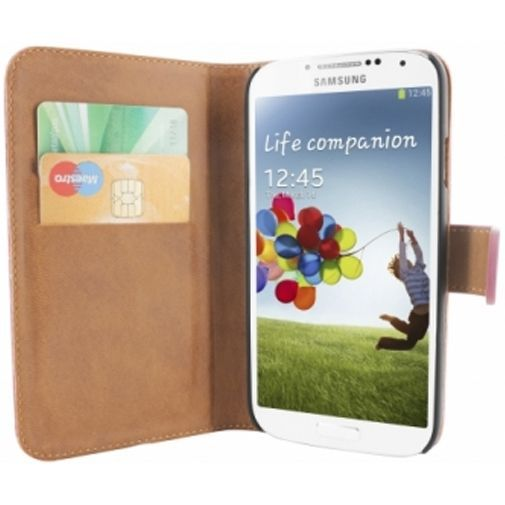 Productafbeelding van de Mobiparts Premium Wallet Case Samsung Galaxy S4 Pink