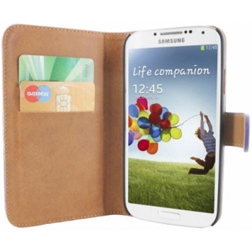 Productafbeelding van de Mobiparts Premium Wallet Case Samsung Galaxy S4 Purple