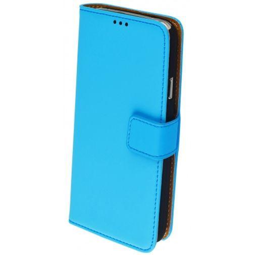Productafbeelding van de Mobiparts Premium Wallet Case Light Blue Samsung Galaxy S5/S5 Plus/S5 Neo