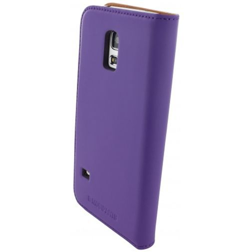 Productafbeelding van de Mobiparts Premium Wallet Case Samsung Galaxy S5 Mini Purple