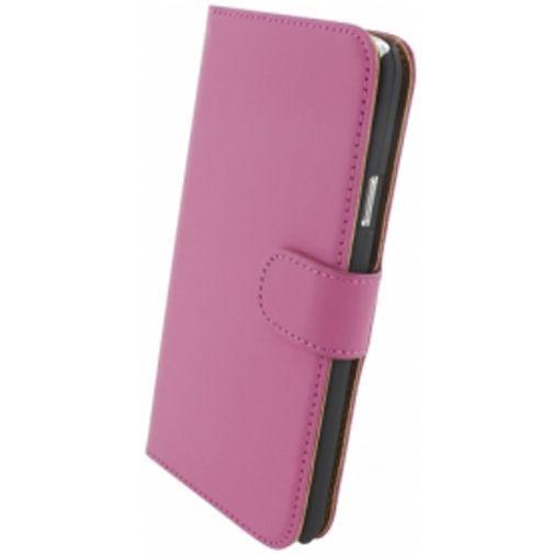 Productafbeelding van de Mobiparts Premium Wallet Case Pink Samsung Galaxy S5/S5 Plus/S5 Neo