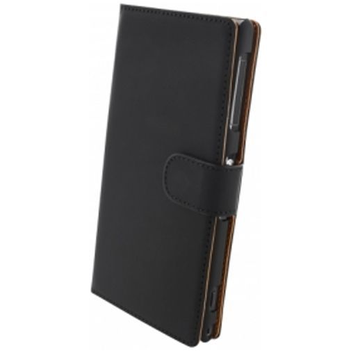 Productafbeelding van de Mobiparts Premium Wallet Case Sony Xperia Z1 Black