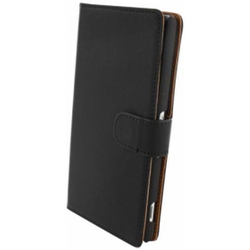 Productafbeelding van de Mobiparts Premium Wallet Case Sony Xperia Z2 Black