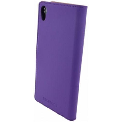 Productafbeelding van de Mobiparts Premium Wallet Case Sony Xperia Z2 Purple
