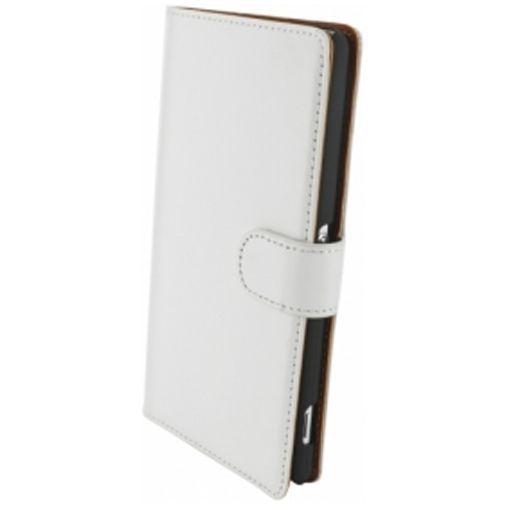 Productafbeelding van de Mobiparts Premium Wallet Case Sony Xperia Z2 White