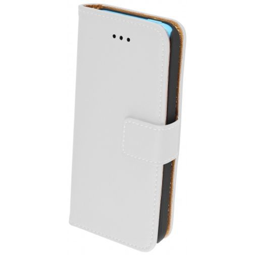 Productafbeelding van de Mobiparts Premium Wallet Case White Apple iPhone 5C
