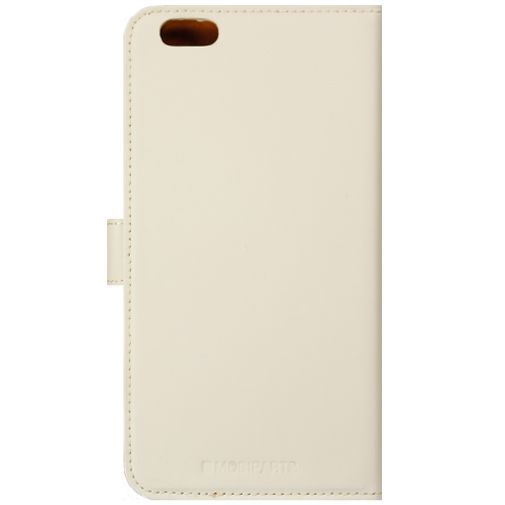 Productafbeelding van de Mobiparts Premium Wallet Case White Apple iPhone 6 Plus/6S Plus