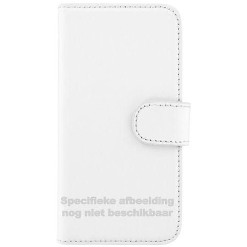 Productafbeelding van de Mobiparts Premium Wallet Case White Huawei P8 Lite
