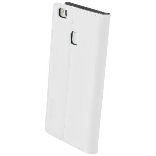Productafbeelding van de Mobiparts Premium Wallet Case White Huawei P9 Lite