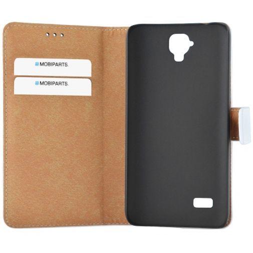Mobiparts Premium Wallet Case White Huawei Y5