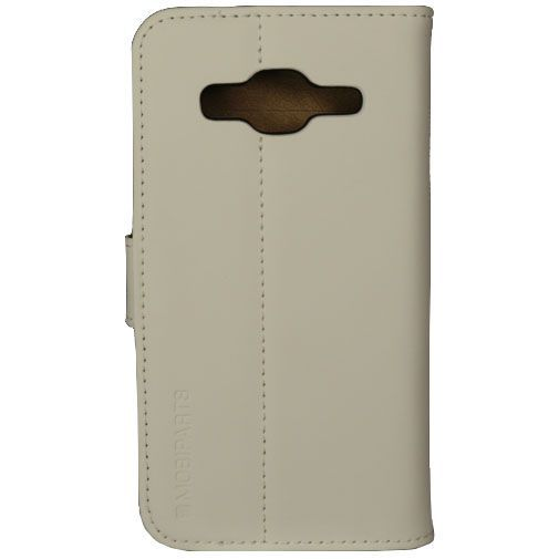 Productafbeelding van de Mobiparts Premium Wallet Case White Samsung Galaxy Core Prime (VE)