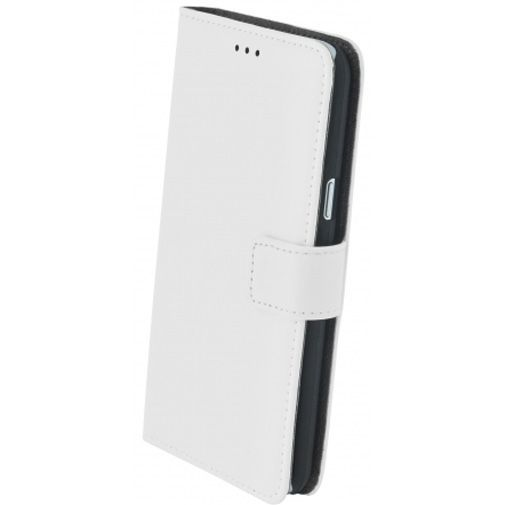 Mobiparts Premium Wallet Case White Samsung Galaxy J3 (2016)