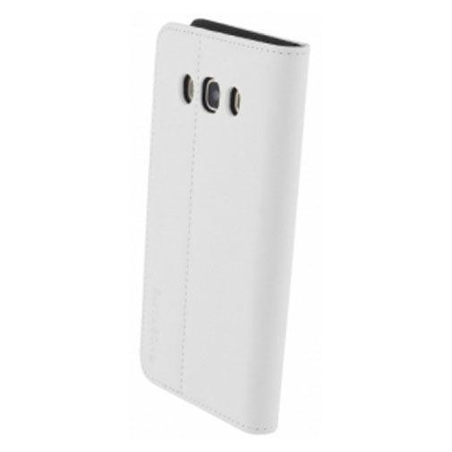 Productafbeelding van de Mobiparts Premium Wallet Case White Samsung Galaxy J5 (2016)