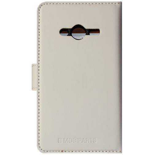 Productafbeelding van de Mobiparts Premium Wallet Case White Samsung Galaxy Trend 2