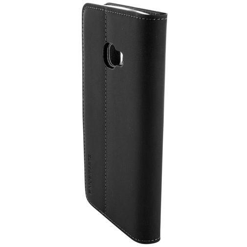 Productafbeelding van de Mobiparts Premium Wallet TPU Case Black Samsung Galaxy Xcover 4/4s