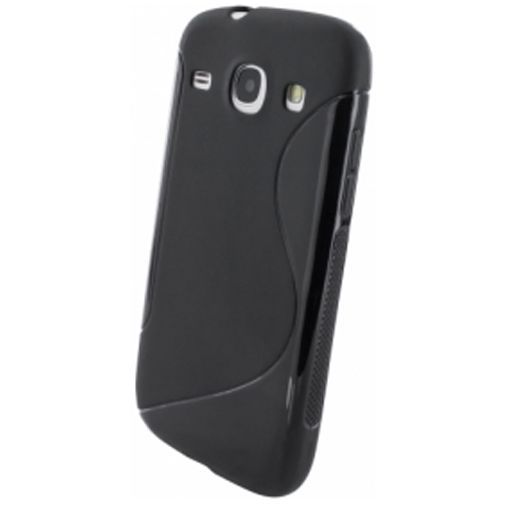Productafbeelding van de Mobiparts S-Shape TPU Case Samsung Galaxy Core Black