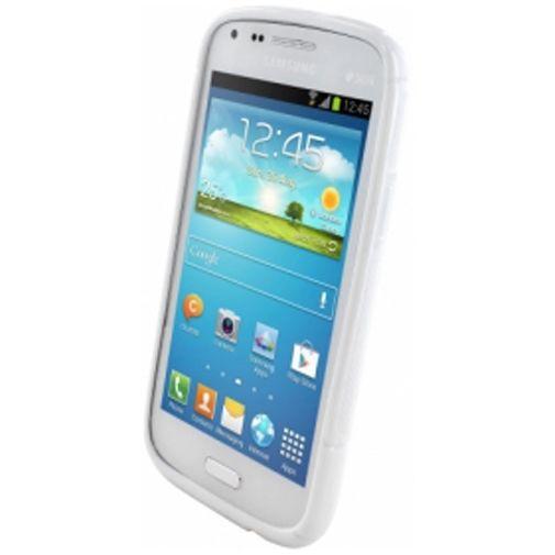 Productafbeelding van de Mobiparts S-Shape TPU Case Samsung Galaxy Core White