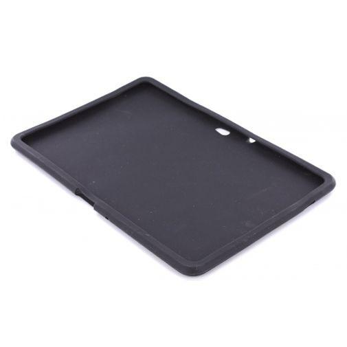 Productafbeelding van de Mobiparts Siliconen Case Black Samsung Galaxy Tab 10.1