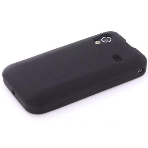 Productafbeelding van de Mobiparts Siliconen Case Samsung Galaxy Ace Black