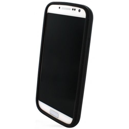Productafbeelding van de Mobiparts Siliconen Case Samsung Galaxy S4 Black