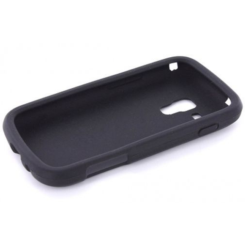 Productafbeelding van de Mobiparts Siliconen Case Samsung S7562 Galaxy S Duos Black