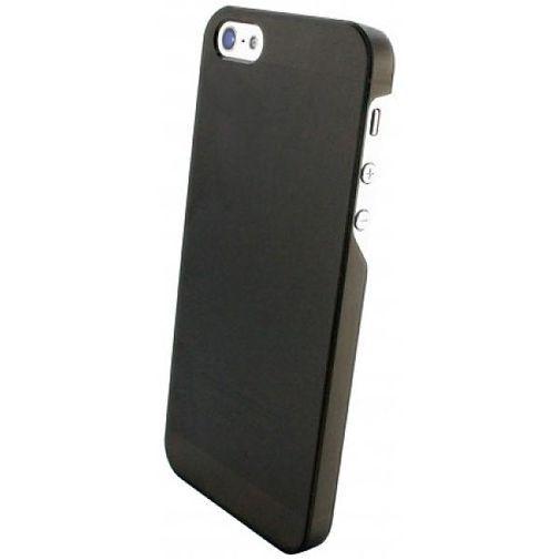 Productafbeelding van de Mobiparts Slim Case Apple iPhone 5/5S Frosted Black