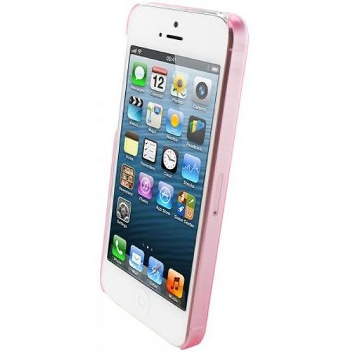 Productafbeelding van de Mobiparts Slim Case Apple iPhone 5/5S Frosted Pink