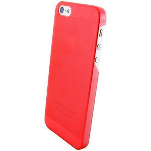 Productafbeelding van de Mobiparts Slim Case Apple iPhone 5/5S Frosted Red