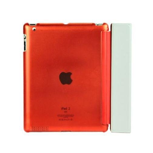 Productafbeelding van de Mobiparts Smart Cover Crystal Orange Apple iPad 2/3