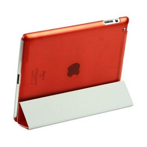 Productafbeelding van de Mobiparts Smart Cover Crystal Red Apple iPad 2/3