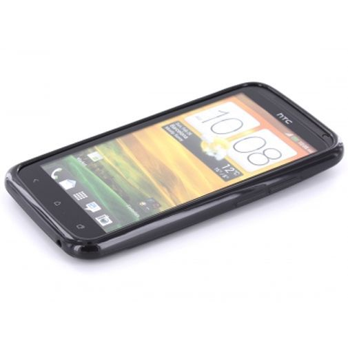 Productafbeelding van de Mobiparts TPU Case HTC One X Black