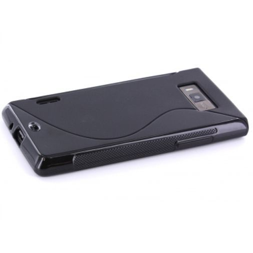 Productafbeelding van de Mobiparts TPU Case LG Optimus L7 P700 S-Shape